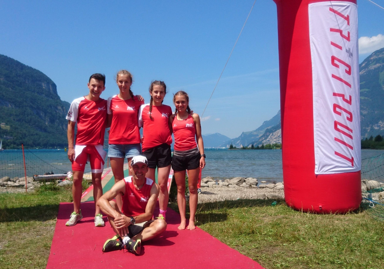 10 Jtri's am Urner Triathlon