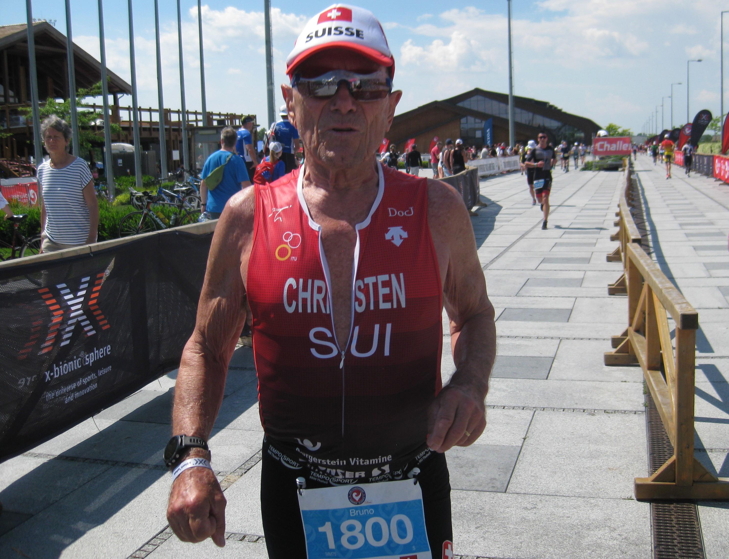 Challenge 70.3 Weltmeister Bruno Christen